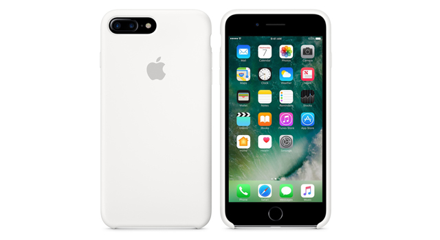 Apple Silicone Case for iPhone 7 Plus White