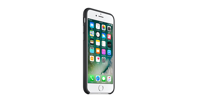 Apple Silicone Case for iPhone 7 Black