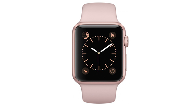 Смарт Часы Apple Watch Series 142mm Rose Gold Aluminium Case with Pink Sand Sport Band