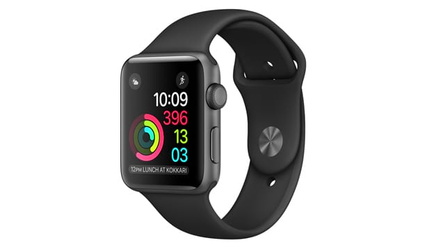 Смарт Часы Apple Watch Series 1 38mm Space Gray Alluminum Case with Black Sport Band