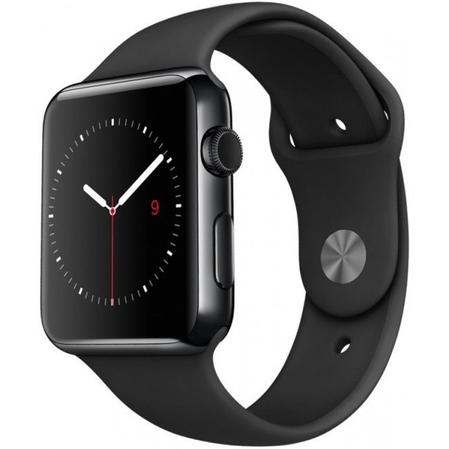 Смарт Часы Apple Watch Series 2 42mm Space Black Stainless Steel Case with Space Black
