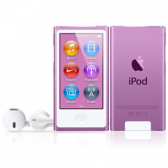 Плеер Apple iPod Nano 7G 16Gb Purple